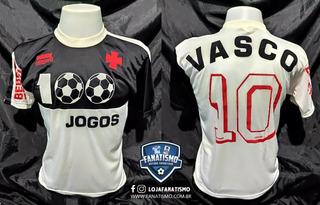 Camisa Do Vasco Comemorativa 100 Jogos De Bebeto 1992