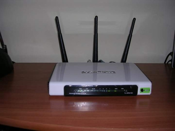 Router Tp-link 3 Antenas 300mb