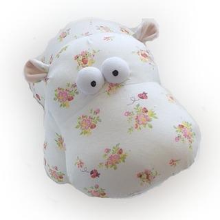 Peluche Para Bebe Hipopotamo Suave Esponjoso Antistres
