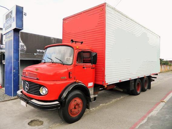Mercedes-benz Mb 1113 1975 Truck, 6x2, Bau, Freio Ar , Turbo