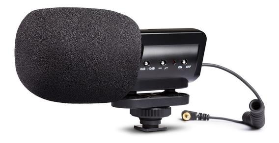Microfone Marantz Audio Scope Sb-c2 P/ Câmera Dslr