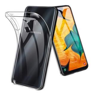 Carcasa Gel Silicona Samsung Galaxy A20 + Lamina