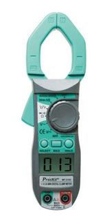 Pinza Amperometrica Digital Tester Memoria Proskit Mt-3102
