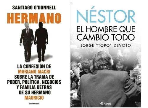 Combo Dos Libros Nestor El Hombre... + Hermano