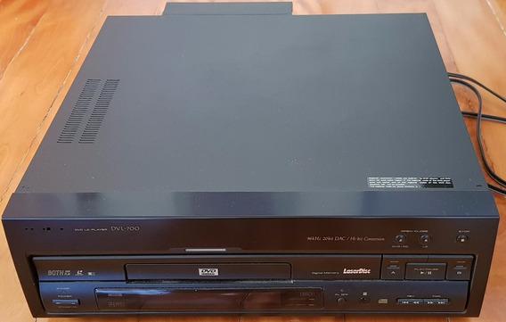 Dvd Ld Player Dvl-700 Pioneer Com Defeito Controle Manual