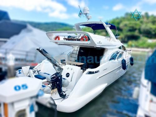 Imagem 1 de 7 de Lancha Azimut 600 Full Catamarã Iate Ferretti Axtor Armada