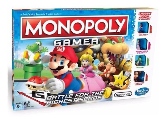 Monopoly Mario Bros Gamer Español Juego Nintendo Hasbro 1815