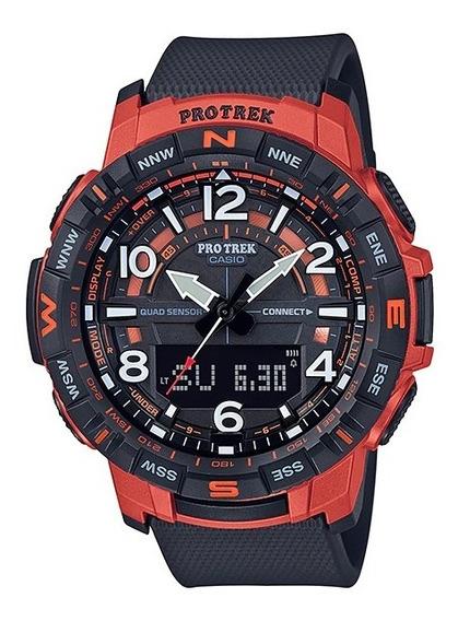 Reloj Casio Protrek 3 Sensor Prt-b50-4cr