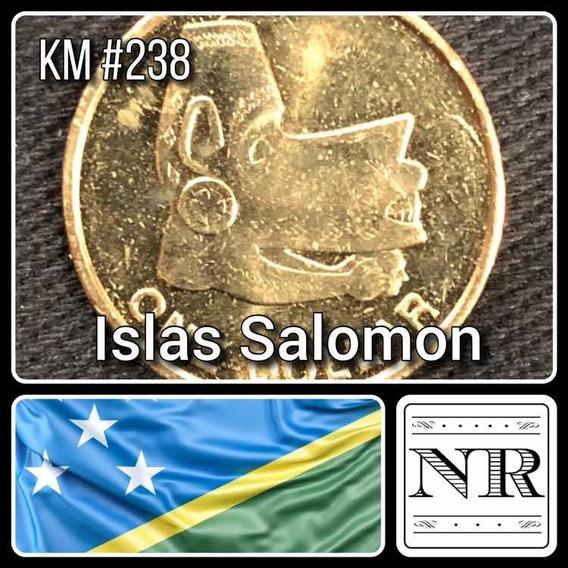 Islas Salomon - 1 Dolar - Año 2012 - Km # 238 - Mascara