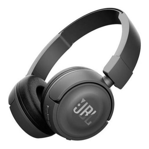 Fone Ouvido Sem Fio Jbl T450 Bt Preto Bluetooth Original