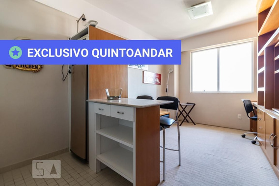 Studio No 20º Andar Com 1 Dormitório E 1 Garagem - Id: 892949520 - 249520