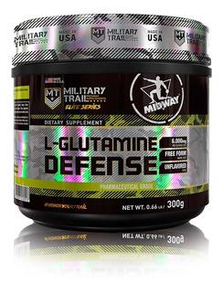Combo 2x L-glutamine Powder 280g + Brindes - Midway