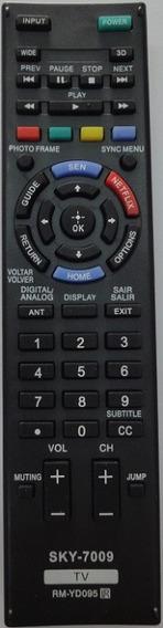 Controle Remoto Tv Sony Lcd Led Rm-yd101 Netflix Sony Bravia
