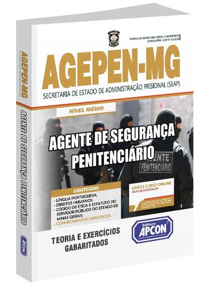 Apostila Agepen-mg - Agente De Segurança Penitenciário