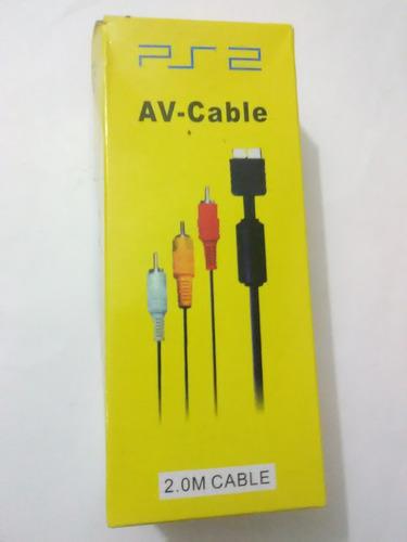 Cable Audio Video Para Playstation 2 ( Nuevo )
