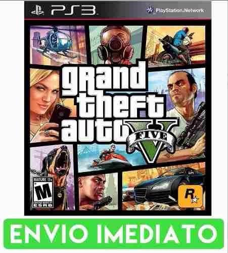 Gta 5 V Ps3 Grand Theft Auto Cod Psn Pt Br Envio Imediato