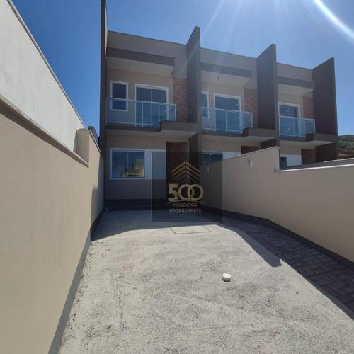 Sobrado Com 2 Dormitórios À Venda, 68 M² Por R$ 249.000,00 - Serraria - São José/sc - So0141