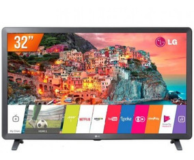 Smart Tv Lg Led Hd 32 Preta 32lk615bpsb Com Webos 4.0 Hdr