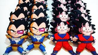 Combo Muñecos De Peluche Goku Y Vegeta Plush Dragon Ball Z