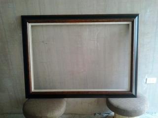 Marco Para Espejo O Cuadro En Madera De 129 X 94 Usado