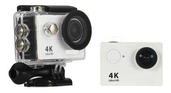 Action Câmera Estilo Gopro H9r Fullhd 4k Wifi Com Controle