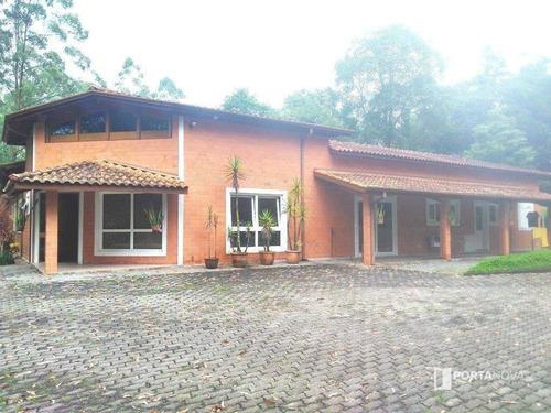 Chácara Com 3 Dormitórios À Venda, 24 M² Por R$ 3.200.000,00 - Jardim Dos Ipês - Embu Das Artes/sp - Ch0026