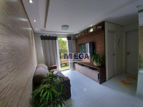Apartamento Garden Com 2 Dormitórios À Venda, 59 M² - Matão - Campinas/sp - Gd0020