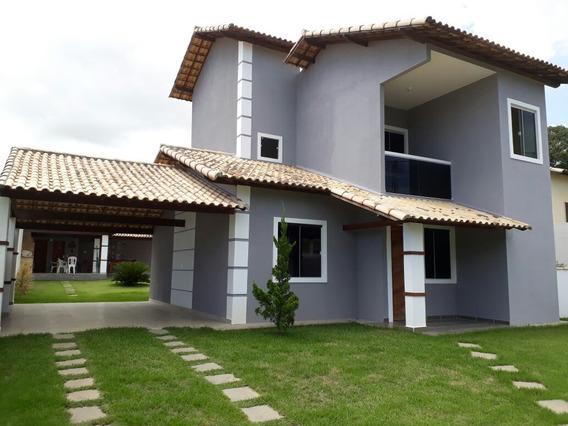 Casa Em Porto Da Roça.documentação Impecável Com Rgi No Nom