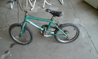 Bicicleta Unibike Bmx Rodado 16