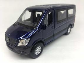 Miniatura Mercedes-benz Sprinter Traveliner Azul
