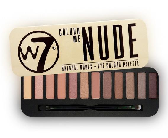 Sombras W7 Colour Nude