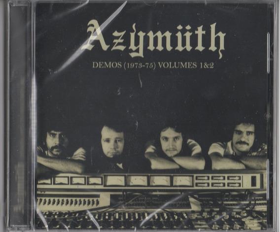 Azymuth - Demos (1973-75) 1 & 2 Cd Importado Novo Lacrado