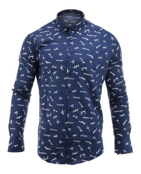 Camisa Hombre Farenheite Firmas