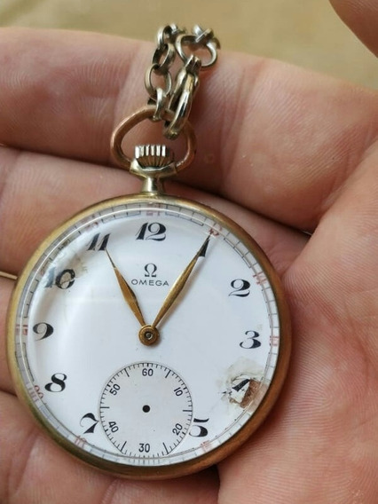 Relógio De Bolso Omega Swiss