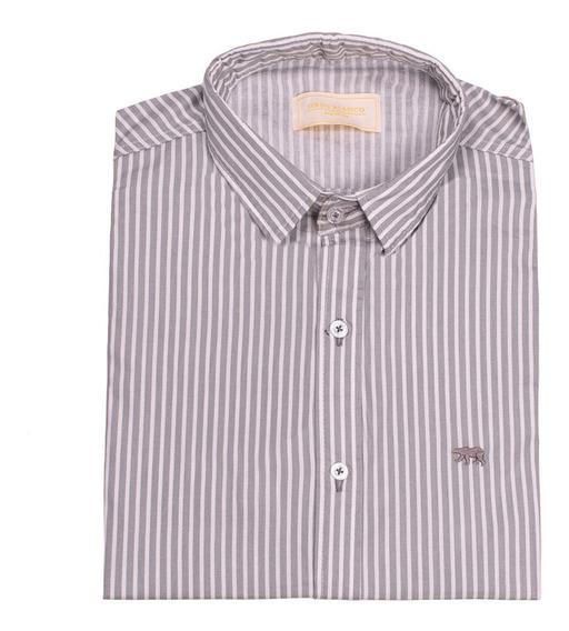 Camisa Hombre Slim Fit Rayada Orso Bianco Xl Y Xxl