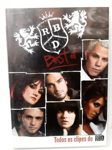 Dvd Original Rbd Best Off