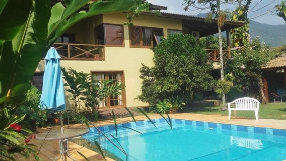Casa Com 6 Dormitórios À Venda, 396 M² Por R$ 1.450.000 - Feiticeira - Ilhabela/sp - Ca0041