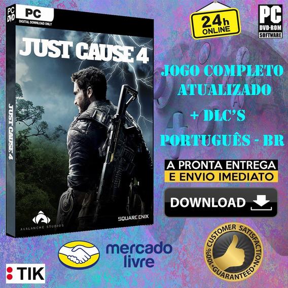 Just Cause 4 Deluxe Edition - Completo - Português