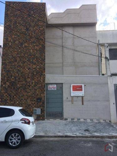 Apartamento Com 1 Dormitório Para Alugar, 30 M² Por R$ 1.300,00/mês - Chácara Santo Antônio (zona Leste) - São Paulo/sp - Ap0583