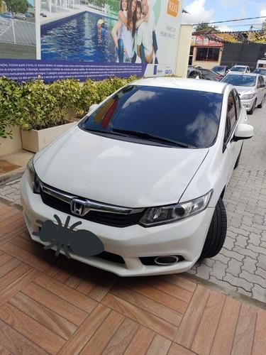 Imagem 1 de 5 de Honda Civic 2014 1.8 Lxs Flex Aut. 4p