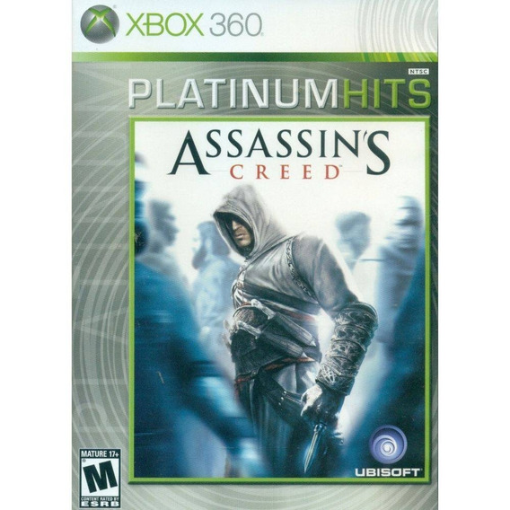 Assassins Creed Xbox 360 Original Seminovo