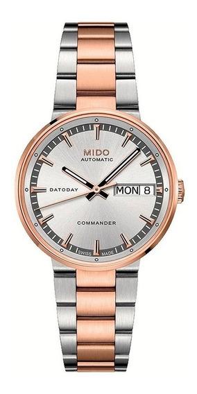 Reloj Mido M0142302203180 Para Dama Ext De Acero