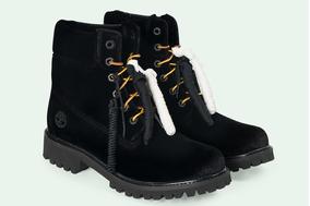 Off-white X Timberland Yellow Boot: Black - Asap Rocky