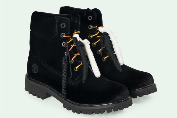 Off-white X Timberland Yellow Boot: Black - Asap Rocky