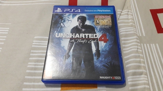 Ps4 Uncharted 4 A Thief