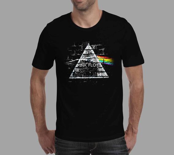 Camiseta Pink Floyd - Preta
