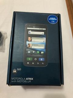 Motorola Atrix With Motoblur, Preto, Usado, Completonacaixa