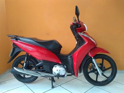 Honda Biz 125 2018 Vermelha