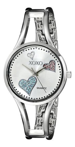Xoxo Xo1087 Reloj Plateado Con Brazalete De Dijes, Para Muj
