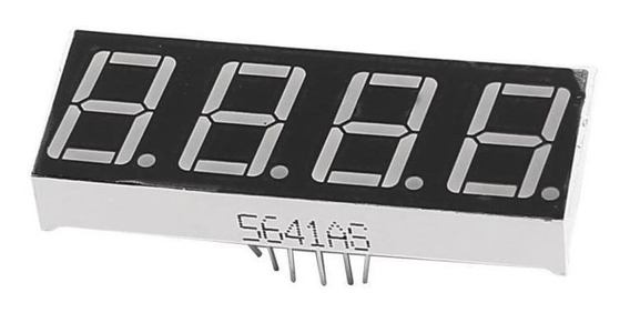 Display Led 0,56 4 Dígitos 7 Segmentos